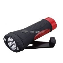 4 LED ABS material flexible led camping light images