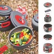 5PCS CAMPING COOK SET images