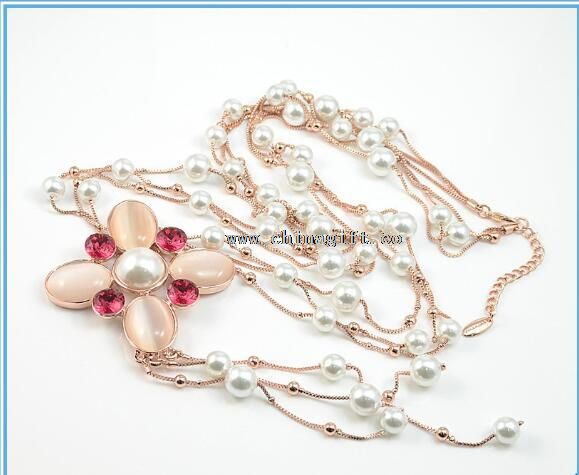 2016 New Fashion Long Jewellery Necklace for Wedding Gifts