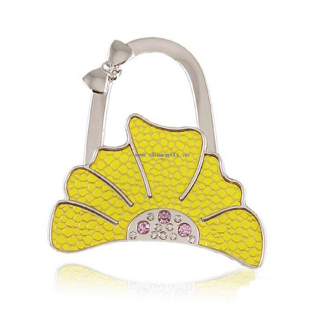 Fashion shopping bag hanger / foldable bag holder/ bag hooks