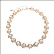 Factory hot sale pearl ring necklace images