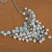 Fashion hot sale design female jewel trendy necklace images