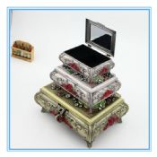 New Zinc Alloy Fashion Wholesales Jewelry Set Box images