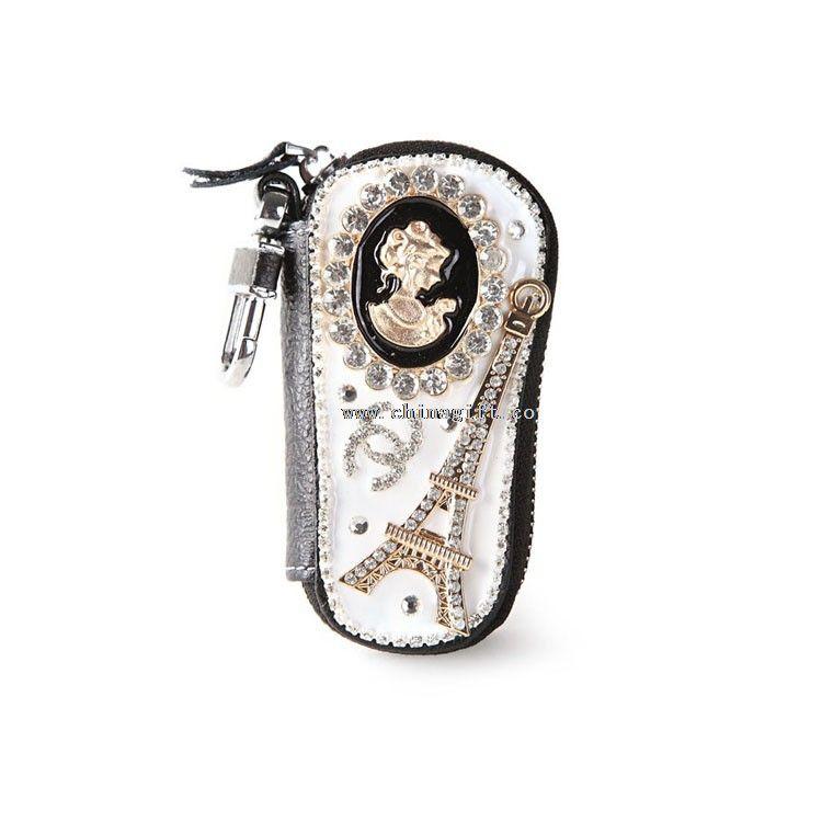 New fashion genuine leather car key case key wallet