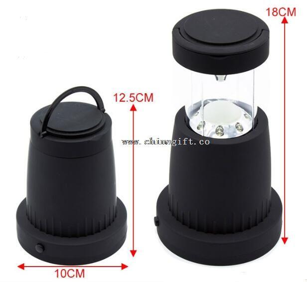 16PCS LEDs collapsible AA battery led lantern light