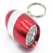 6 leds multi color pocket led flashlight keychain images