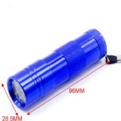 9 led kids mini flashlight images