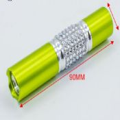 diamond crystal coat 0.5W led outdoor flashlight images