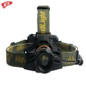 rechargeable cree XML T6 camouflage led light headlamp images