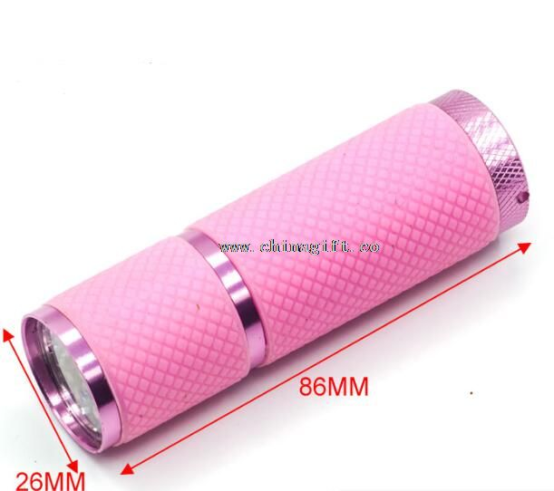 rubber coat flashlight