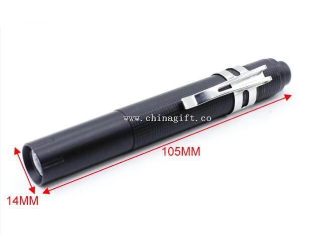 0.5W LED aluminum alloy pen torch light