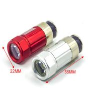 0.5W aluminum 12v rechargeable flashlight car flashlight images