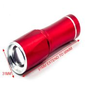 3 AAA battery 1w aluminum alloy dimming flashlight images