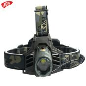 Blinking 300lm camouflage led headlamp images