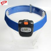 165 lm blue plastic led headlamp images