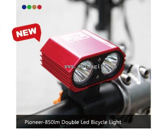Pioneer-Twin LED Bicycle Light