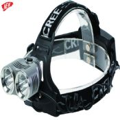 500lm rechargeable Silver led headlamp images