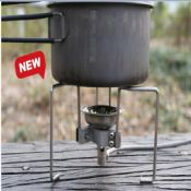 Camping aluminium portable gas stove stand images