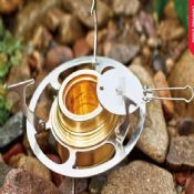 Outdoor camping stainless steel Alcohol burners with stand images