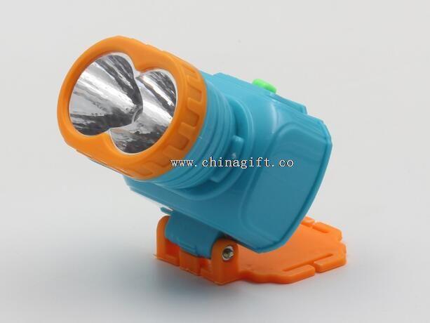 2 LED Rechargeable 400mah Flashlight