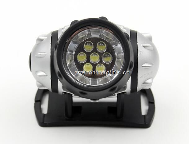 7 LED Mini Plastic Flashlight