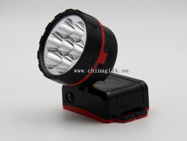 7LED Light Bulb Plastic Flashlight