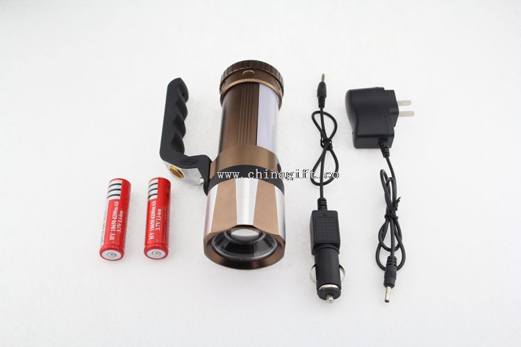 Led Zooming Rechargeable Torch