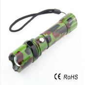 Powerful Camouflage Military Swat Tactical Police Flashlight images