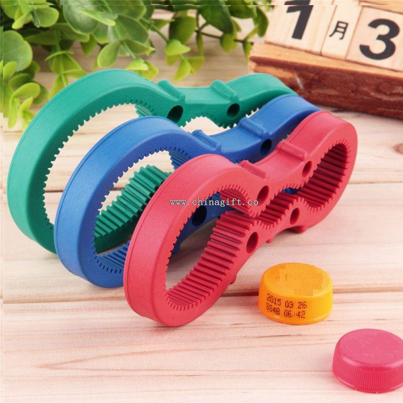 Multi-use plastic Jar opener