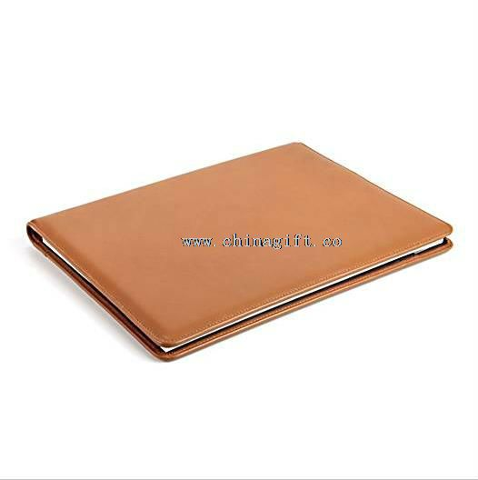 pu leather folios+a4