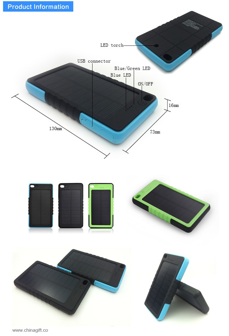 5000mah portable mobile charger
