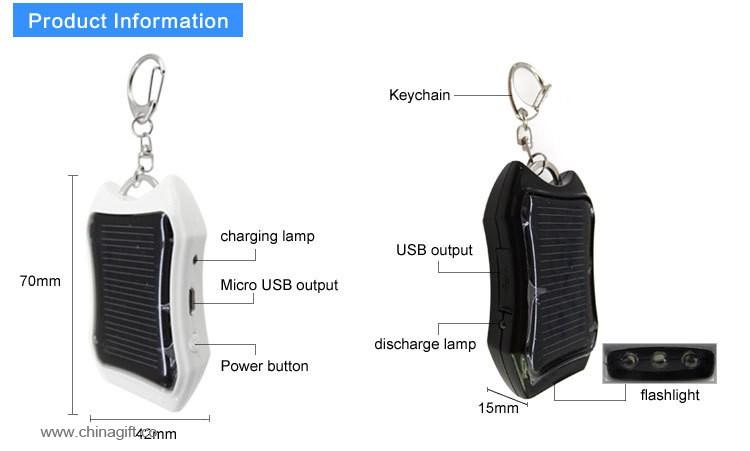 1200mah power bank keychain