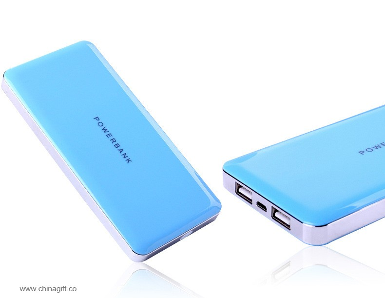 Slim power bank 8000mah