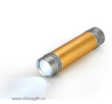 metal power bank LED light