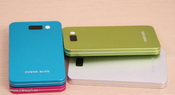 slim portable power bank usb 4000mah images