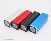 Power Bank With LED Flashlight images